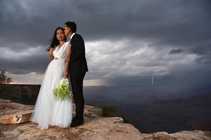 RACHEL AND VICTOR ELOPEMENT - GRAND CANYON