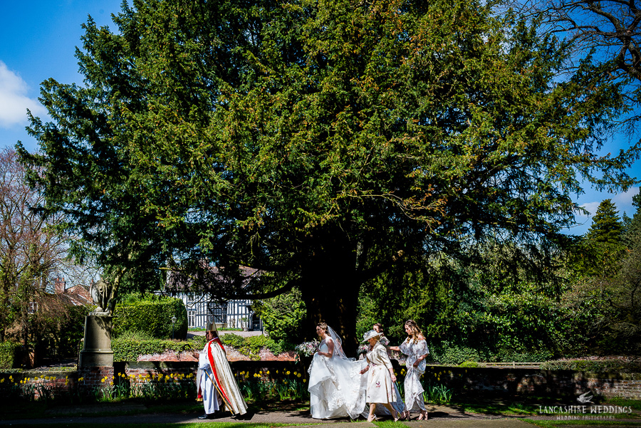 Gawsworth Church photography by Neil Griffiths at lancashire weddings