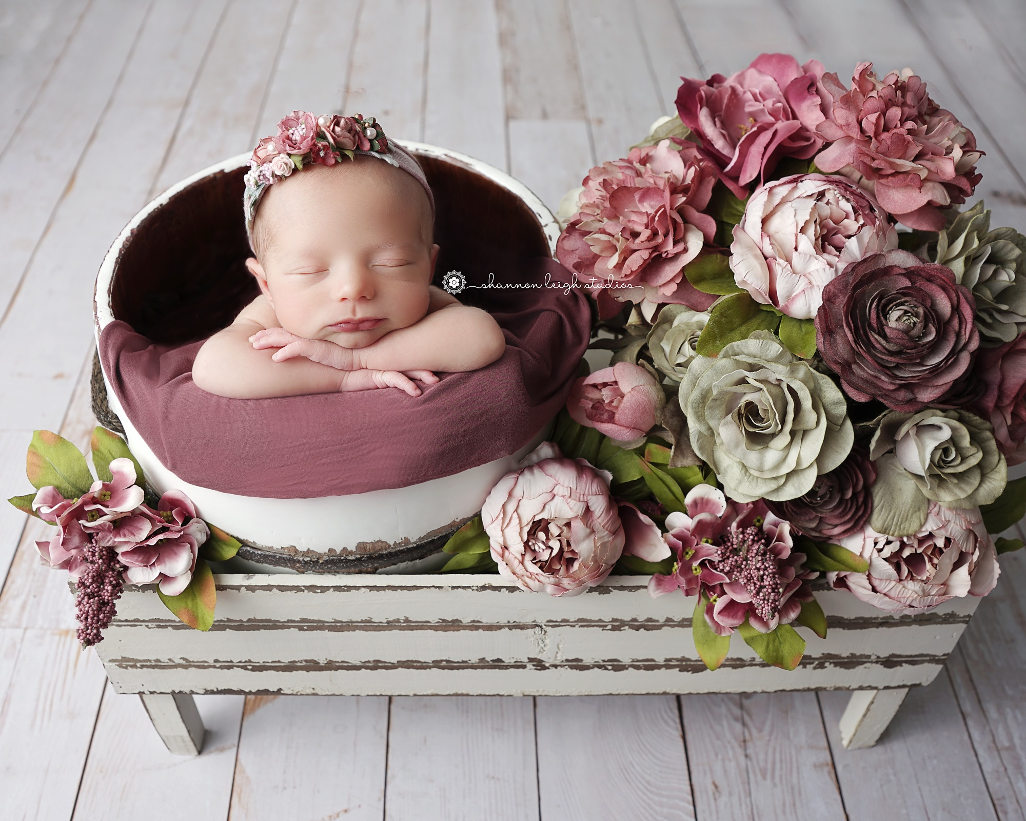 Precious Carrington Sandy Springs Newborn Baby Photographer