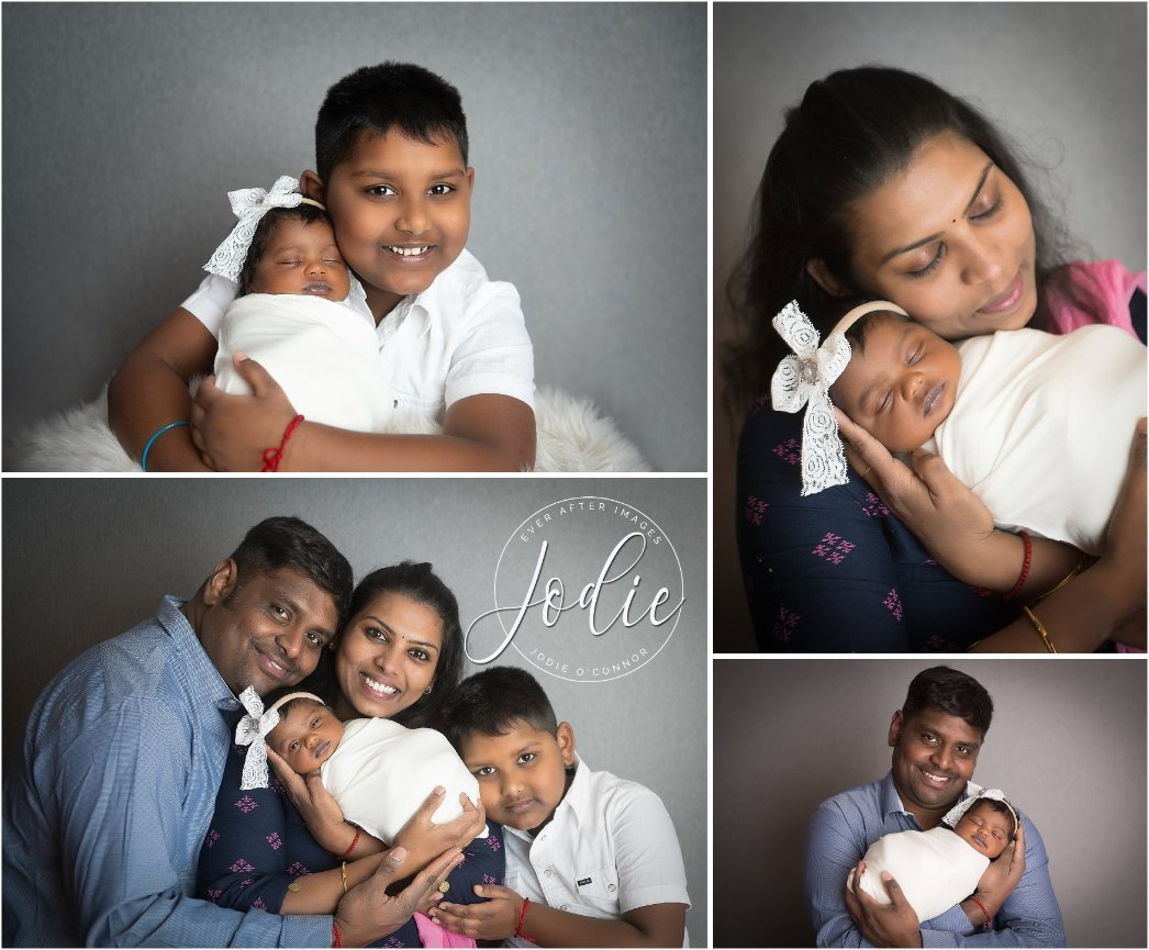 Newborn Photography in Erie PA - Before returning to India