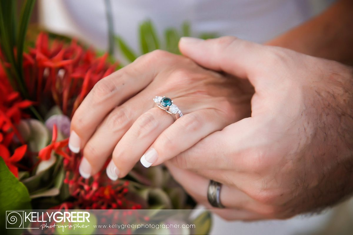 The Engagement Ring - Virgin Islands Photographer St Croix