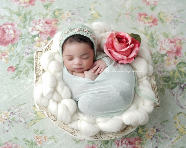 Beautiful Alyssa - Alpharetta Newborn Baby Photographer