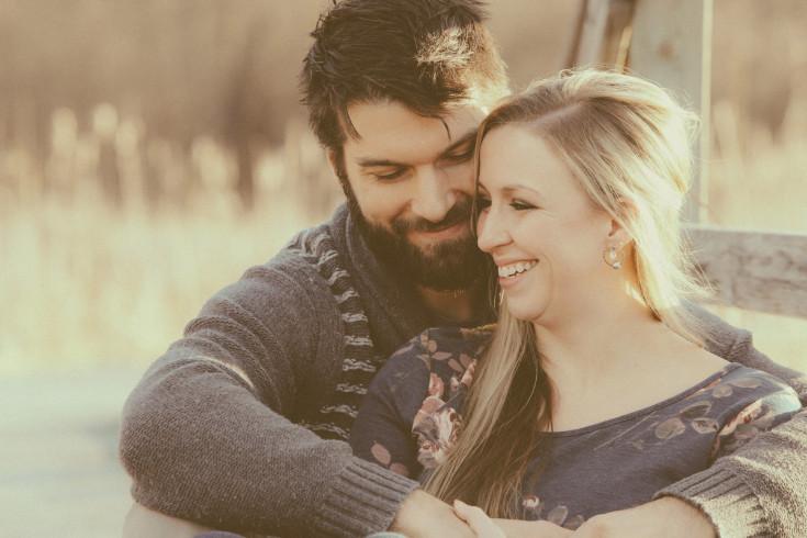 Jeanna & Adam. Engaged.