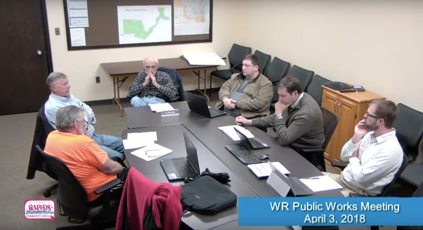 WR City Public Works Meeting - April 2018