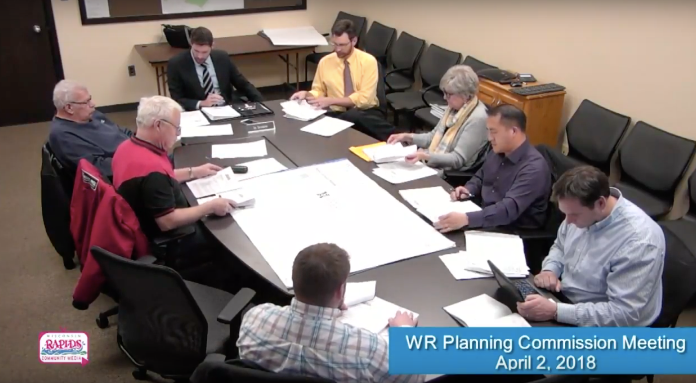 City of Wisconsin Rapids Planning Meeting - April 2018l