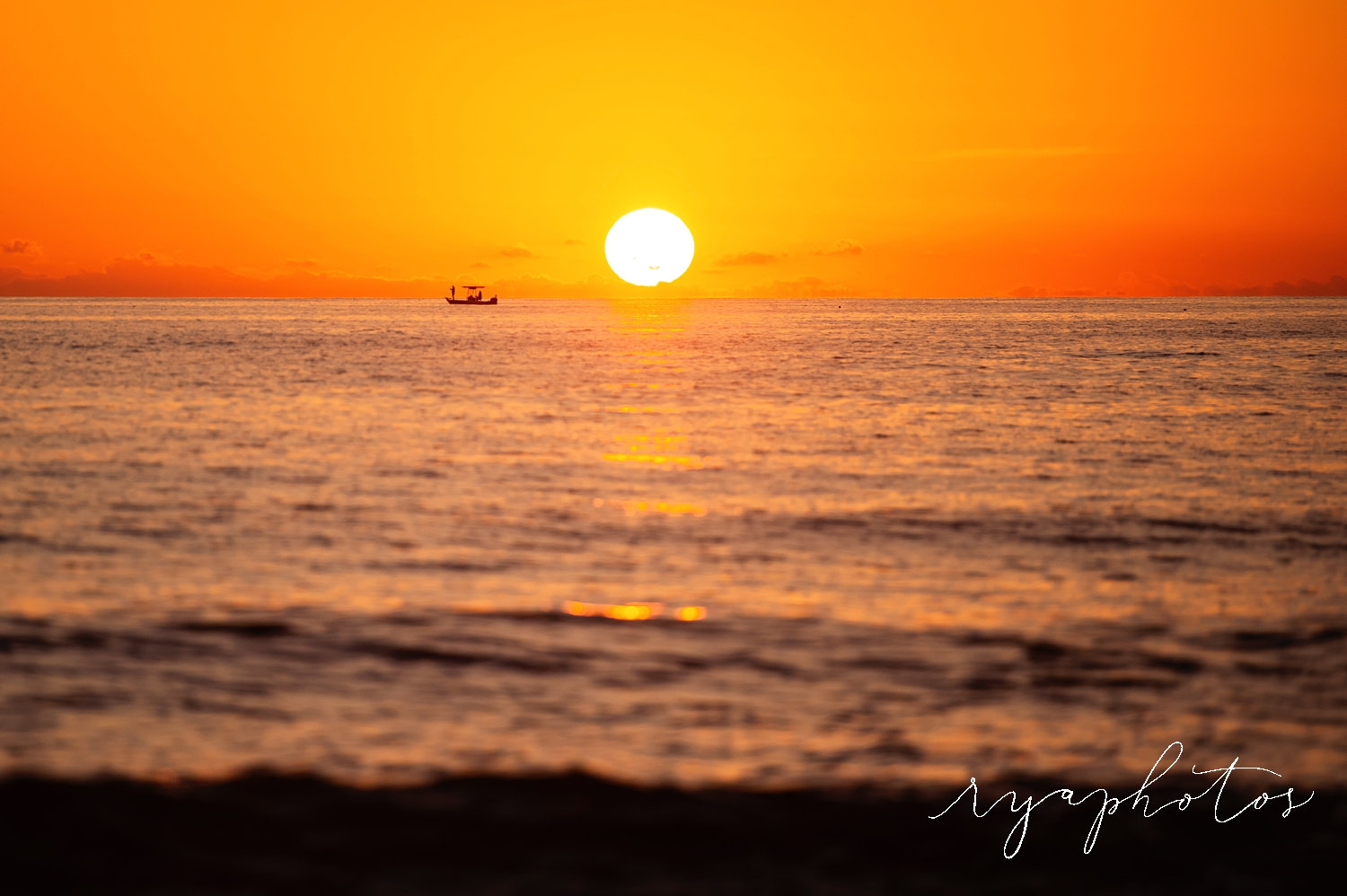 Naples, Florida sunset with boat silhouette, Naples sunset, Florida, Ryaphotos