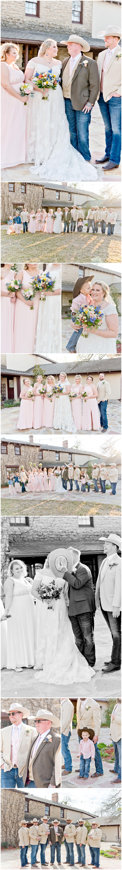 Bridal Party Portraits at Hidden Gardens Venue